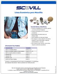 Scovill Hoja de producto de la línea Económica para Mezclilla